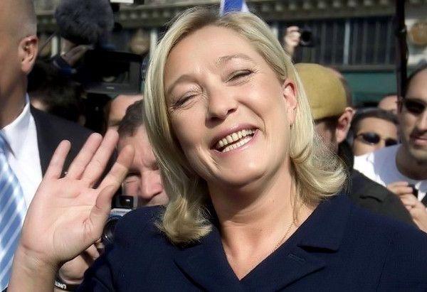 Quand Marine Le Pen est nue